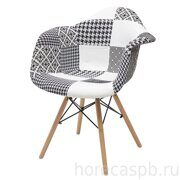 Стул FOLK-1002 PATCHWORK-BW